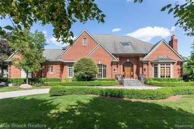 Birmingham MI Single Family Home For Sale: $1,799,000