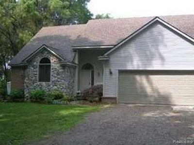 Wixom Single Family Home For Sale: 1437 N Wixom Road