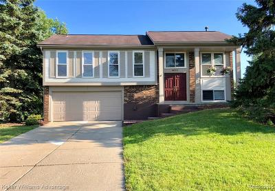 Novi Single Family Home For Sale: 40111 Oak Tree