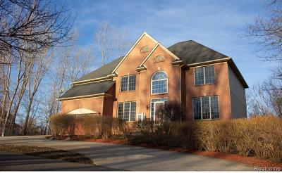 West Bloomfield Twp Single Family Home For Sale: 1651 Hiller Road