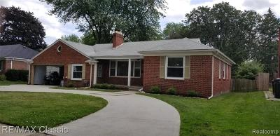 Macomb County, Oakland County, Wayne County Single Family Home For Sale: 21600 Erben St Street