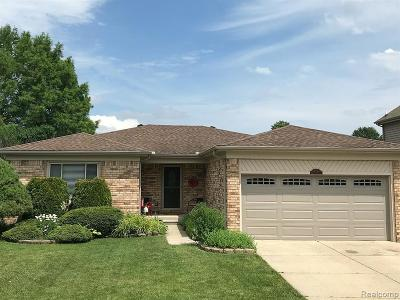 Macomb County, Oakland County, Wayne County Single Family Home For Sale: 33712 Sunrise Drive