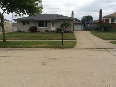 Sterling Heights Single Family Home For Sale: 12975 Decook