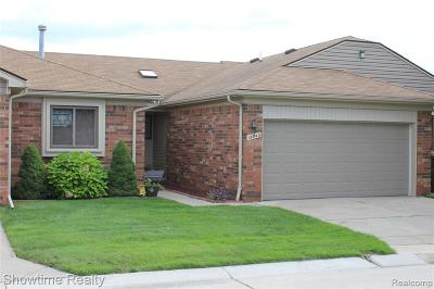 Sterling Heights Condo/Townhouse For Sale: 13843 Bayview Drive