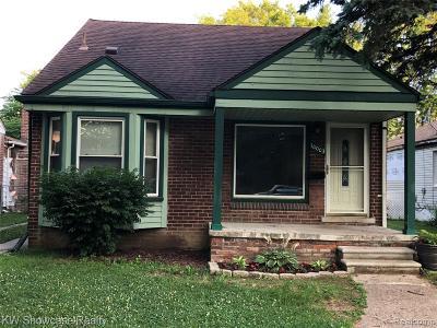 Wayne County Single Family Home For Sale: 10003 Arnold