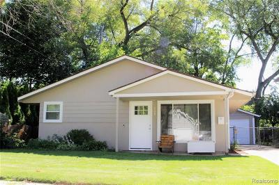 Clawson Single Family Home For Sale: 648 Goodale Court