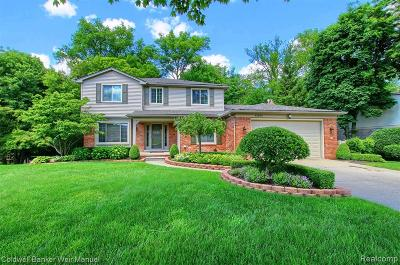 Plymouth Twp MI Single Family Home For Sale: $449,000