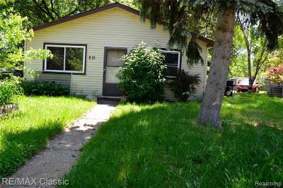 Pontiac Single Family Home For Sale: 231 Parkdale Avenue