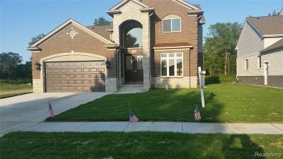 Sterling Heights Single Family Home For Sale: 39220 Ajanta Court