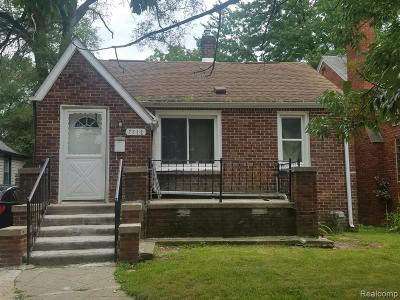 Warren Single Family Home For Sale: 7512 Orchard Avenue