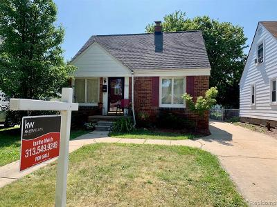 Dearborn Single Family Home For Sale: 3327 Hollywood Street