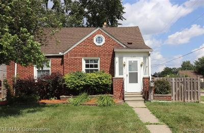 Wayne County Single Family Home For Sale: 4269 Mildred Street