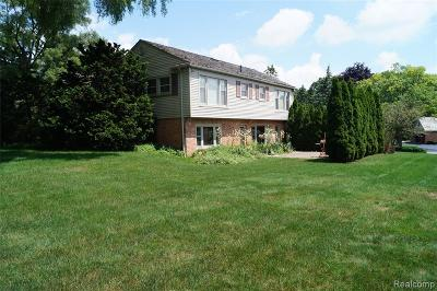 Bloomfield Hills Single Family Home For Sale: 135 Harlan Drive