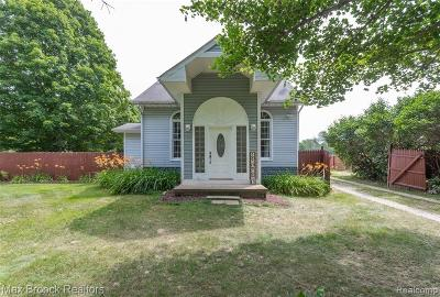 Lake Orion, Orion Twp, Orion Single Family Home For Sale: 755 Laird Street