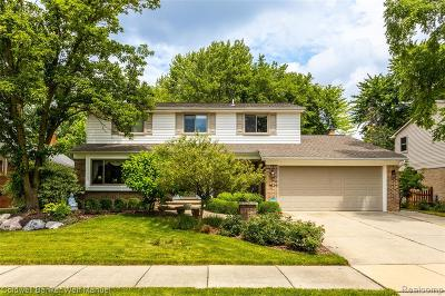 Macomb County, Oakland County, Wayne County Single Family Home For Sale: 45438 Plum Hollow