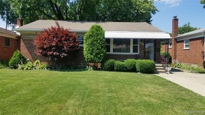 Macomb County Single Family Home For Sale: 17313 Veronica Avenue