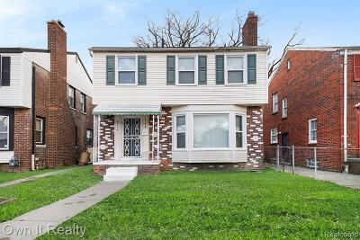 Detroit Single Family Home For Sale: 15774 Birwood Street