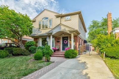 Allen Park Single Family Home For Sale: 9979 Carter Ave