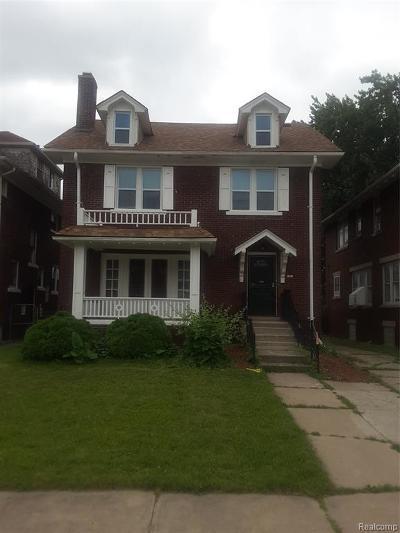 Detroit Single Family Home For Sale: 2319 Atkinson Street