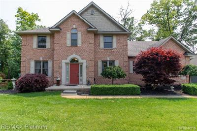 Single Family Home For Sale: 9369 Sheltering Oaks Drive