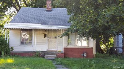 Detroit Single Family Home For Sale: 19790 Lahser Road