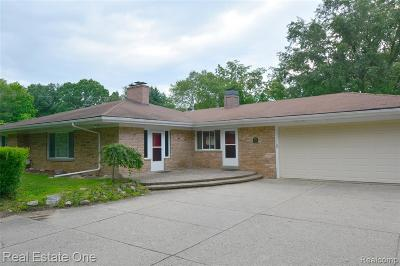 Novi Single Family Home For Sale: 28795 Summit Drive