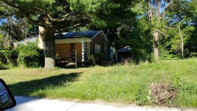 Detroit Single Family Home For Sale: 18967 Trinity Street