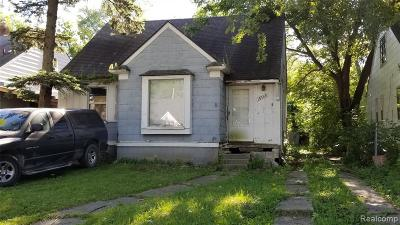 Detroit Single Family Home For Sale: 18968 Vaughan Street