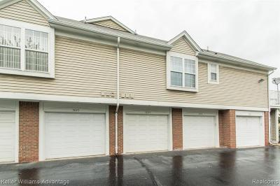 Sterling Heights Condo/Townhouse For Sale: 5829 Pine Aires Drive