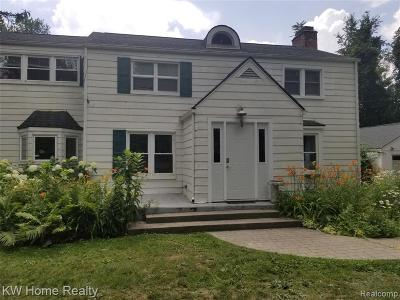 Addison Twp Single Family Home For Sale: 1458 Rochester Road