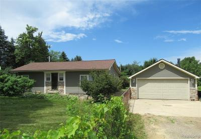 Single Family Home For Sale: 5079 Jefferson Road