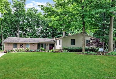 Farmington Hills Single Family Home For Sale: 21254 Woodfarm