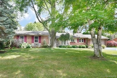 Farmington Hills Single Family Home For Sale: 31172 Tiverton Street