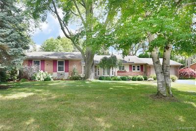 Farmington, Farmington Hills Single Family Home For Sale: 31172 Tiverton Street