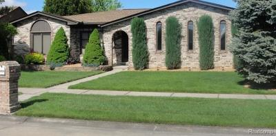 Macomb Twp Single Family Home For Sale: 45883 Berthoud Drive