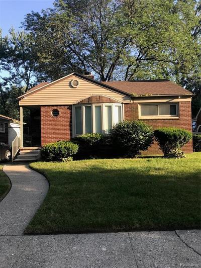 Detroit Single Family Home For Sale: 22331 Karl Street