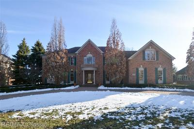 Macomb County, Oakland County, Wayne County Single Family Home For Sale: 45597 Tournament Drive