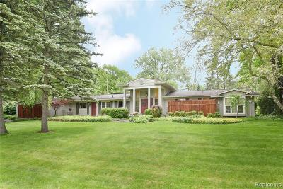 Troy Single Family Home For Sale: 2351 Cheswick Drive