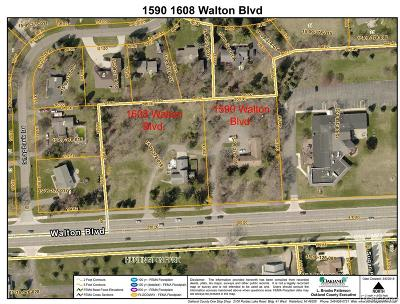 Rochester Hills Residential Lots & Land For Sale: 1608 Walton Boulevard