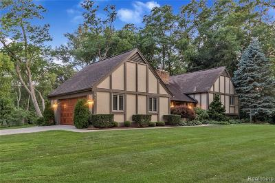 West Bloomfield Twp Single Family Home For Sale: 2500 Warner Drive