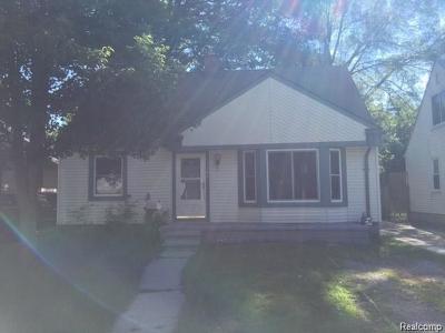 Detroit Single Family Home For Sale: 19908 Salem Street