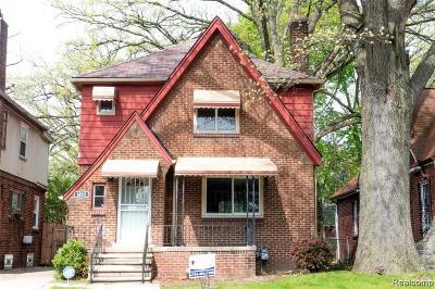 Detroit Single Family Home For Sale: 18511 Santa Rosa Drive