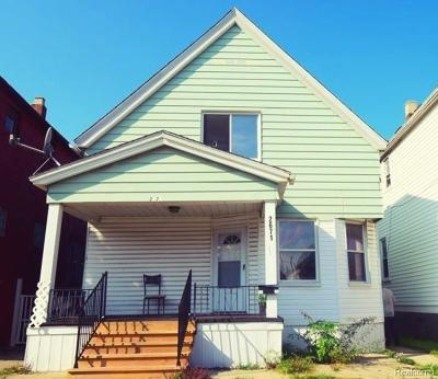 Wayne County Single Family Home For Sale: 2671 Belmont Street