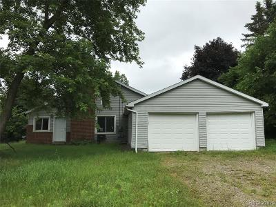 Oxford, Oxford Twp, Oxford Vlg Single Family Home For Sale: 270 S Coats Road