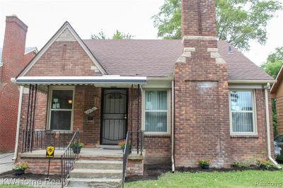 Detroit Single Family Home For Sale: 16761 Archdale Street