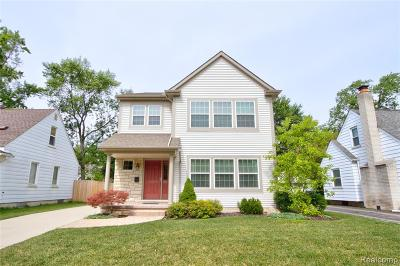 Berkley Single Family Home For Sale: 2175 Cummings Avenue