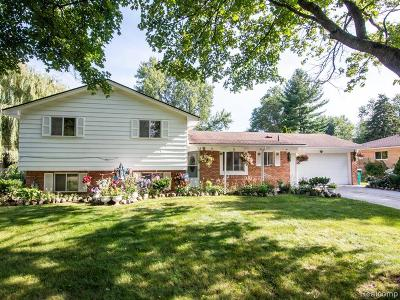 Farmington Hills Single Family Home For Sale: 32467 Nestlewood Street