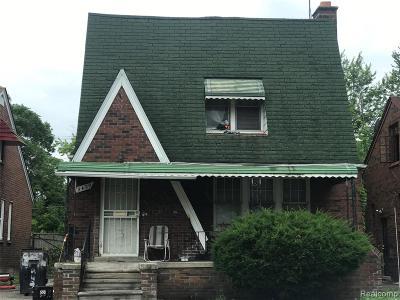 Detroit Single Family Home For Sale: 9429 Somerset Avenue