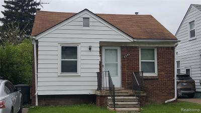 Detroit Single Family Home For Sale: 6395 Grandmont Avenue