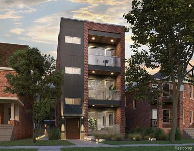 Detroit Condo/Townhouse For Sale: 4530 Commonwealth Street #C
